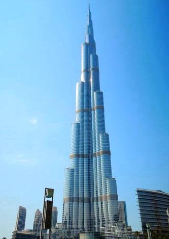 The highest house in the world Burj Khalifa